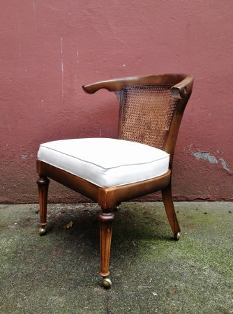 Seattle Set Of 4 Vintage Cane Back Club Chairs 299 Http