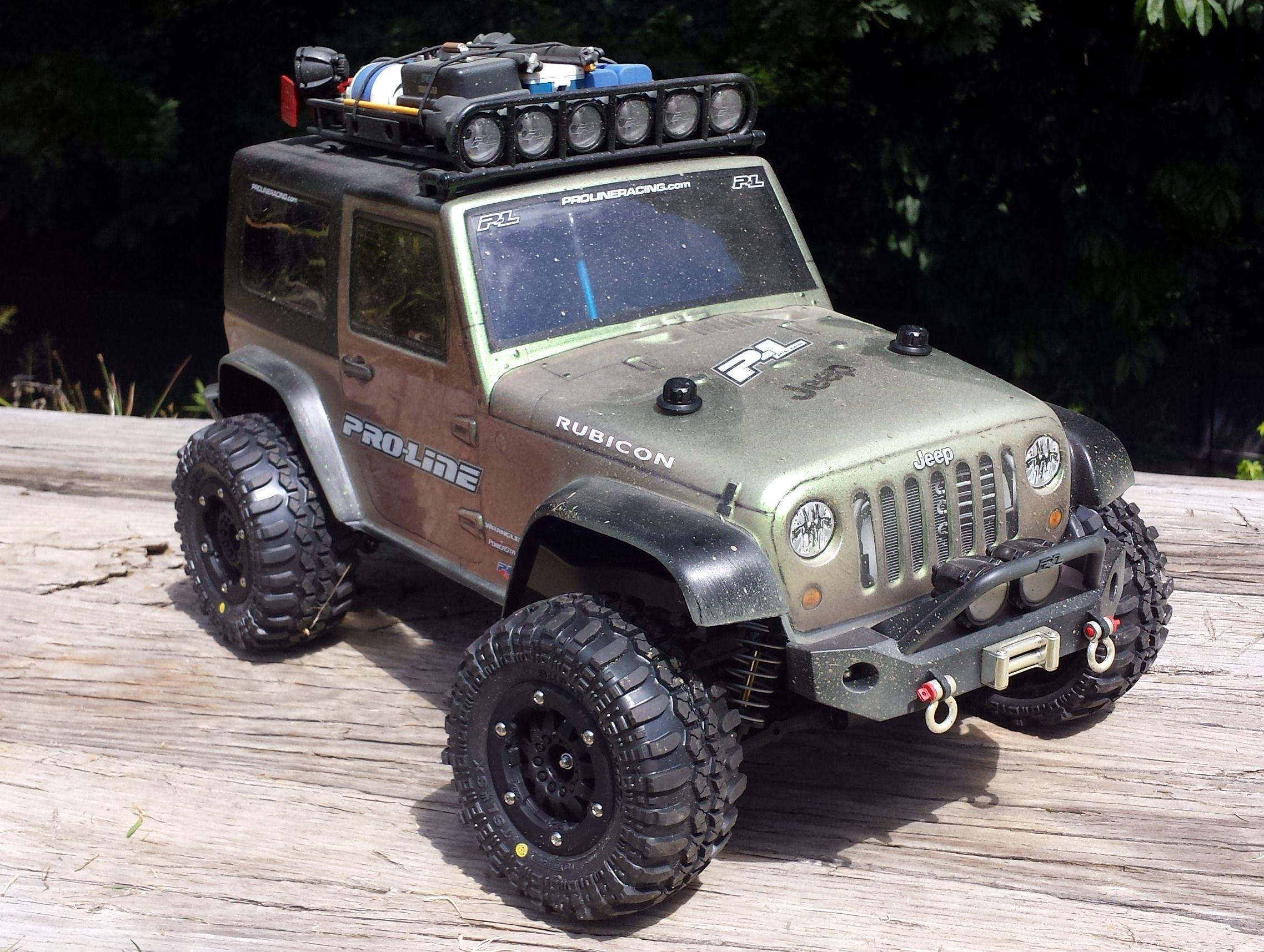 Jeep Traxxas RC Body