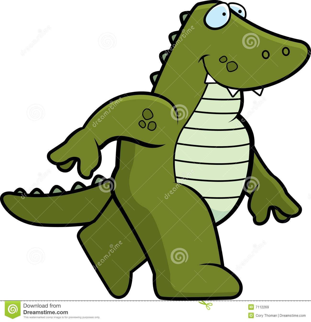 Laughing Cartoon Alligator Clipart - Free Clip Art Images | Gators ...