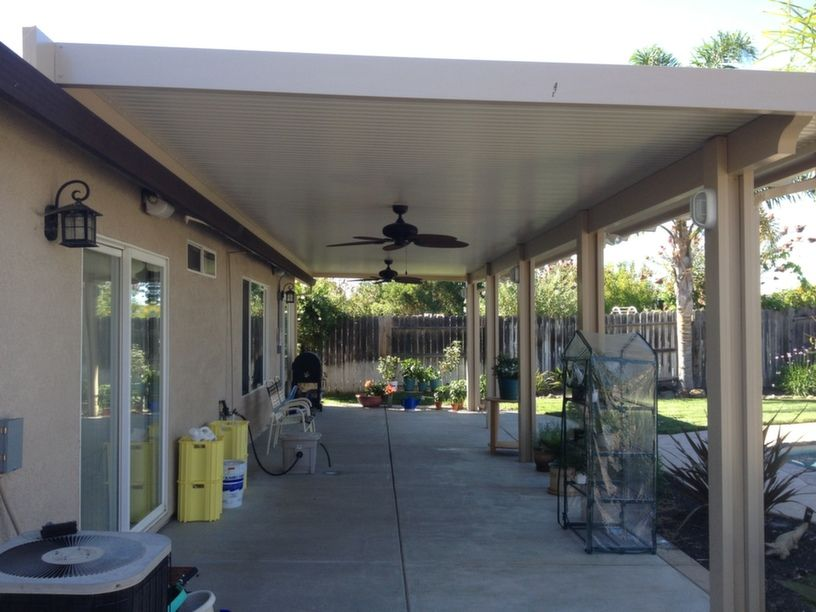 Patio Cover Design And Construction In Woodland Hills Ca In 2020 Aluminum Patio Covers Aluminum Patio Patio