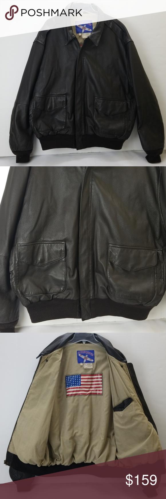 Vintage Airborne Men S Leather Jacket Leather Jacket Men S Leather Jacket Leather Men [ 1740 x 580 Pixel ]