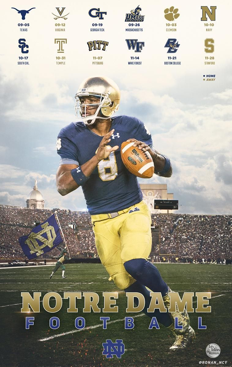 Ronan Muller On With Images Notre Dame Football Notre Dame