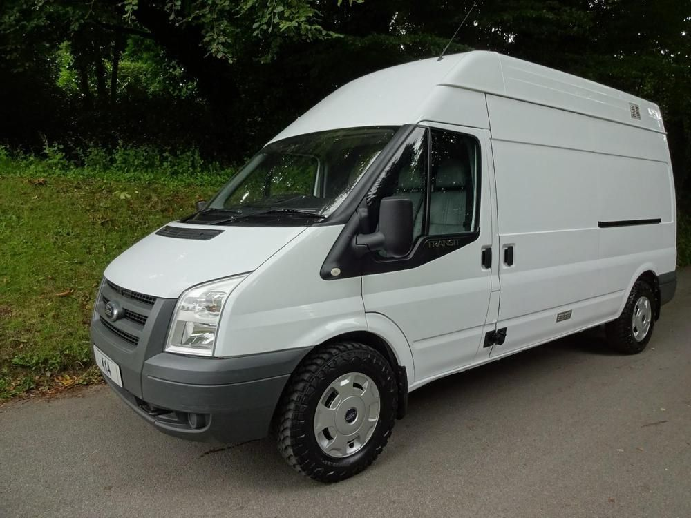 Ford Transit Van Lwb High Roof 2009 Pretty Van Ford Transit