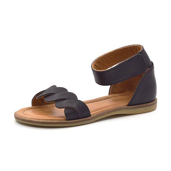 6dc5fd15ba2 Bisgaard sandal m. ankelrem sort | Kids | Sandals, Sorting, Shoes