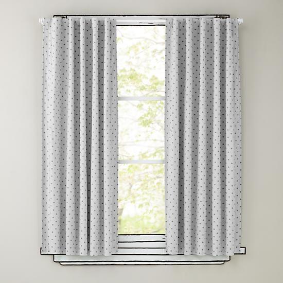 84 Grey Polka Dot Curtain Panels Polka Dot Curtains Cool