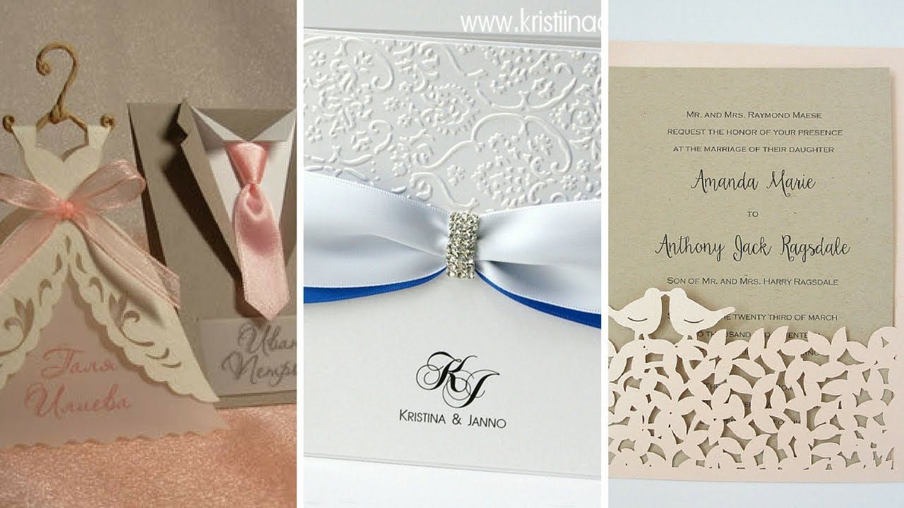 beautiful and stylish best wedding cards designs and ideas