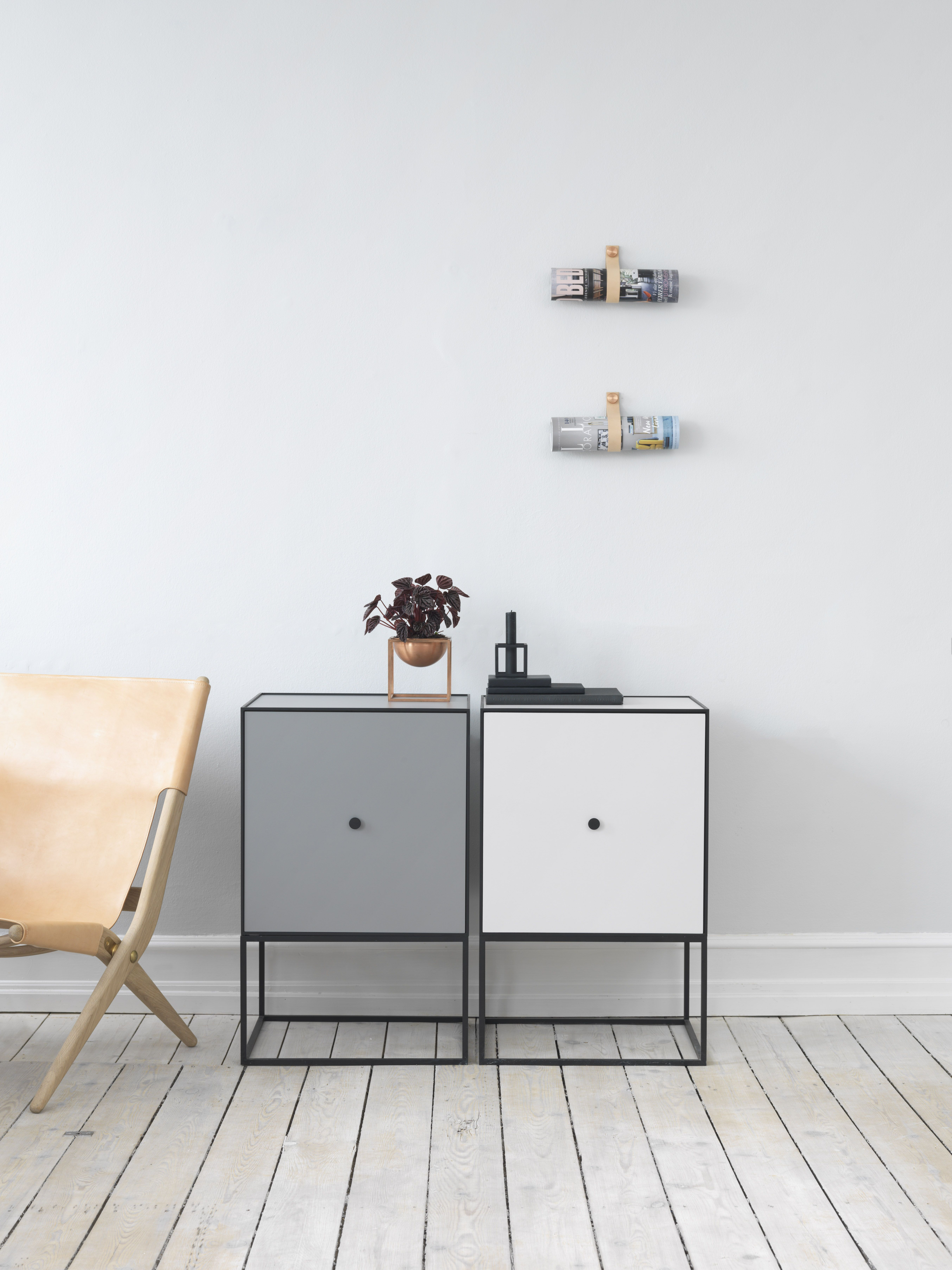 Frame Is A Flexible Storage Solution Comprised Of Square Boxes