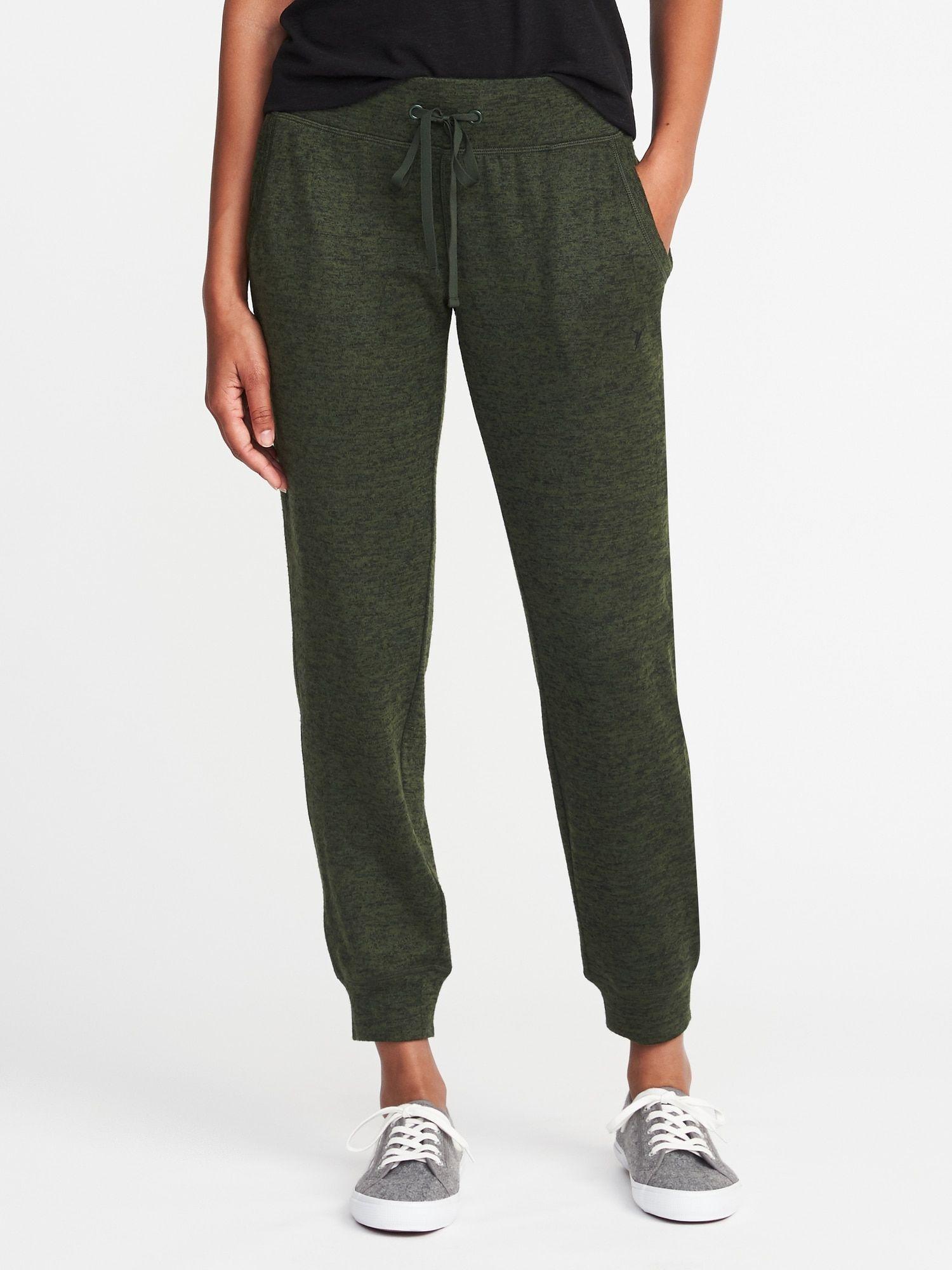 Essentials Womens Knit Jogger Sleep Pant