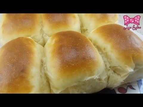 خبز الحليب الهش كالقطن خبز هش مفيد للأطفال في اقل من خمس دقائق مطبخ Food Hamburger Bun Bread