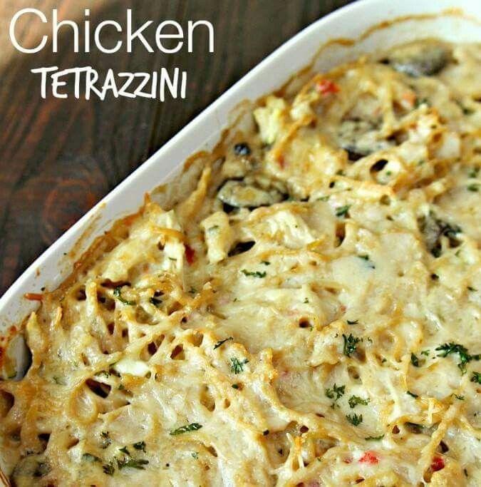 Chicken Tetraźzini