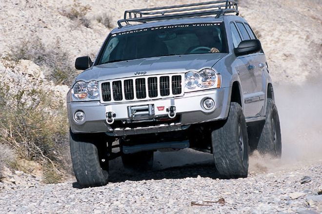 2005 Jeep Grand Cherokee   The Mojave: The Next Generation