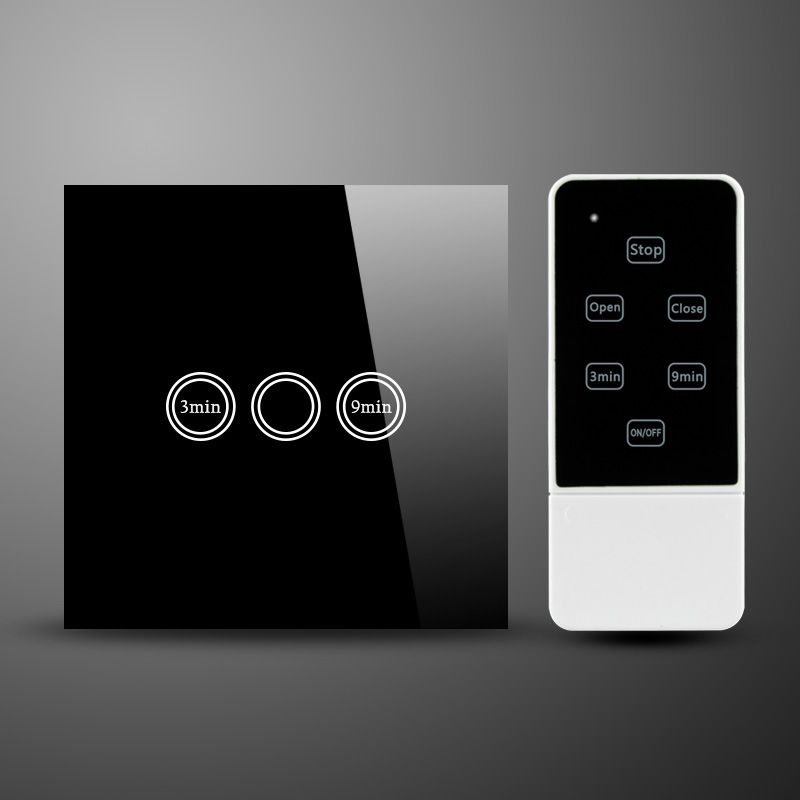 I LumoS Luxury White Glass Panel Touch WIFI//4G Remote On//Off LED Light Switches