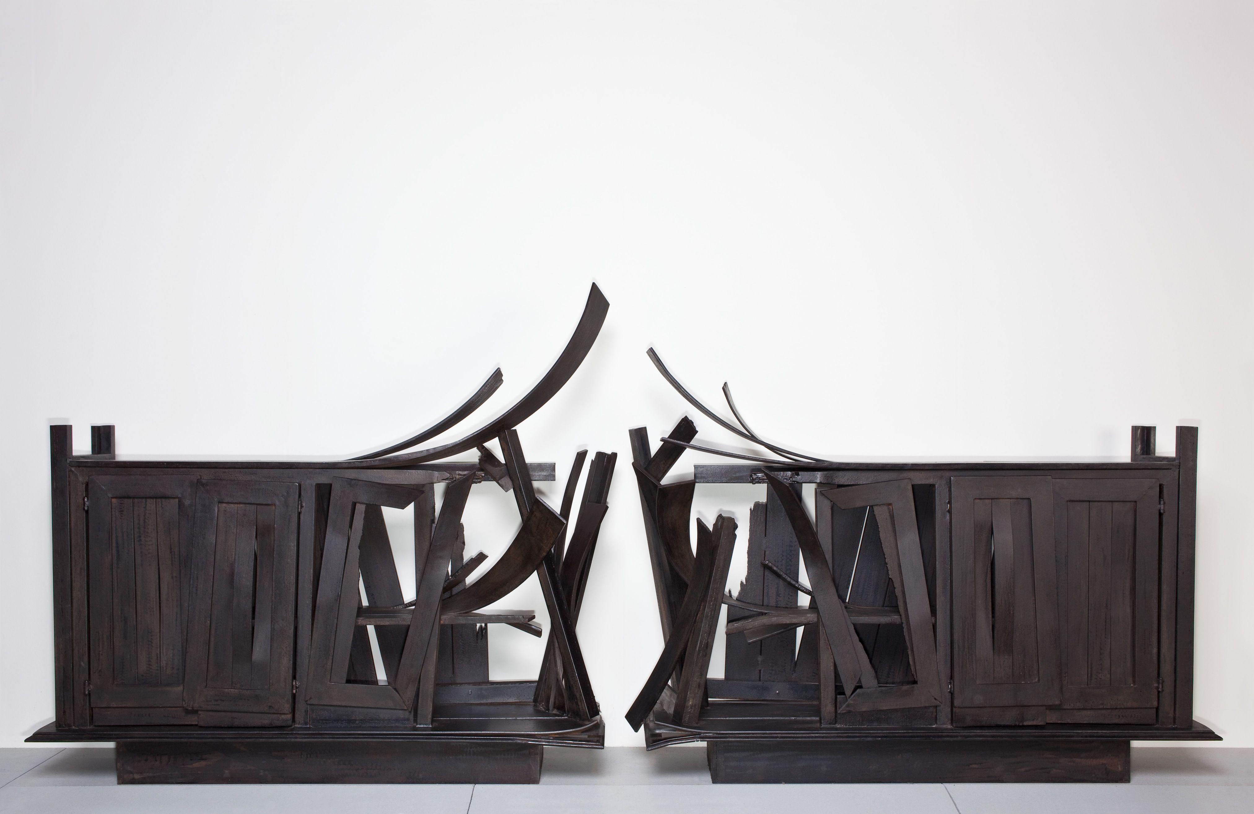Vincent Dubourg, Double Buffet Nouvelle Zelande. Steel, 2010