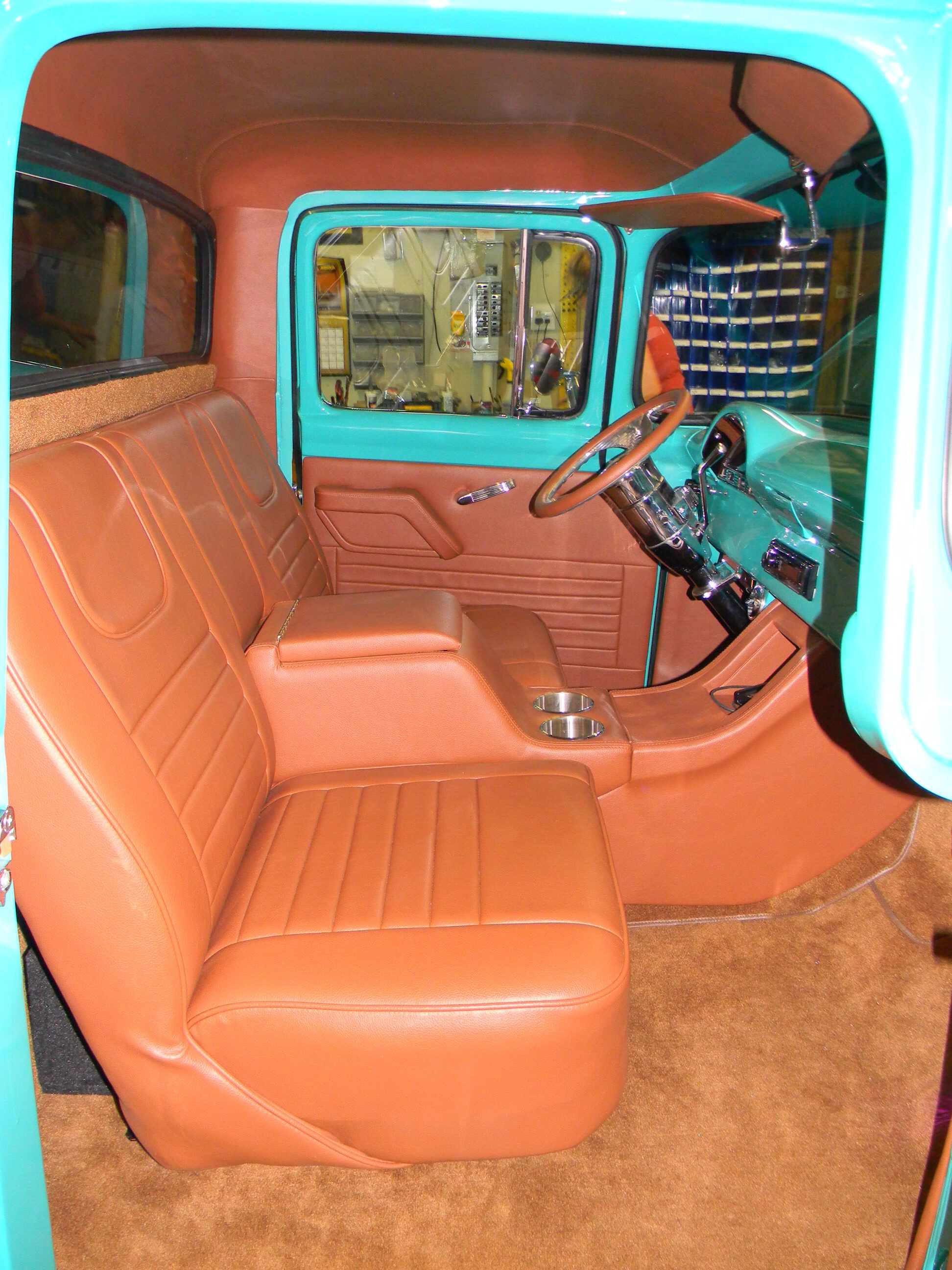 Rick S Custom Upholstery 47 87 C 10 Chevy Truck Interior Seat Covers In 2020 Custom Upholstery Truck Interior Chevy Trucks