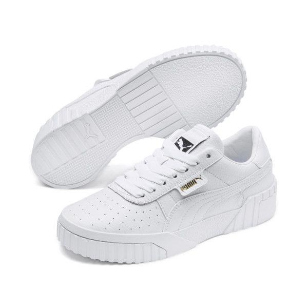wholesale dealer 5c304 3e4ac Image 1 of Cali Women s Sneakers, Puma White-Puma White, medium