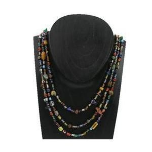 Gifts With Humanity ZCJ006-3STRAND-202070 Beaded Success Necklace - Kenya - Multicolor  Walmart