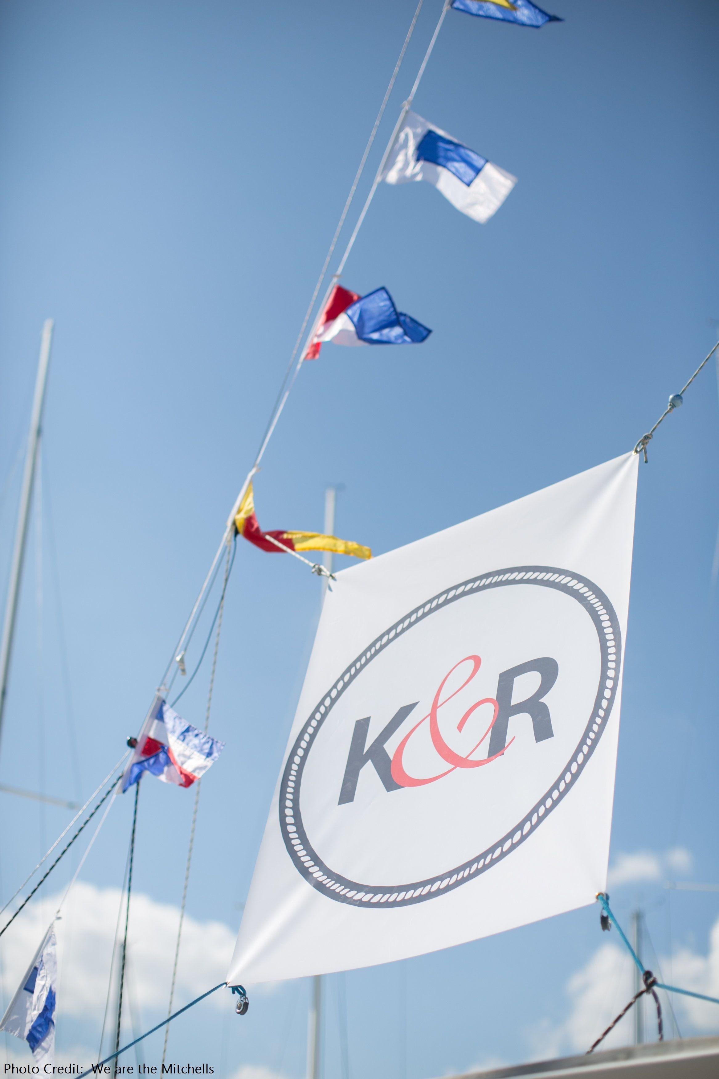 Monogram Custom Sailing Flags Pinterestdreams.blogspot.com Photo Credit:  We are the Mitchells