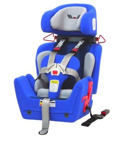Convaid Carrot booster car seat the most supportive