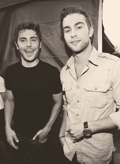 Chace Crawford and Zac Efron