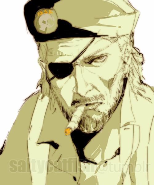 Saltycatfish Metal Gear Series Big Boss Metal Gear Metal Gear