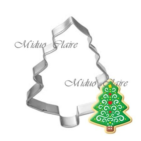 Christmas Cookie Cutter Stainless Steel Cut Candy Biscuit Mold