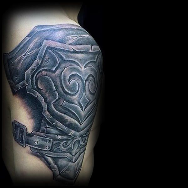 5d63bc138 60 3D Tribal Tattoos For Men - Masculine Design Ideas | IMPRESSIVE ...