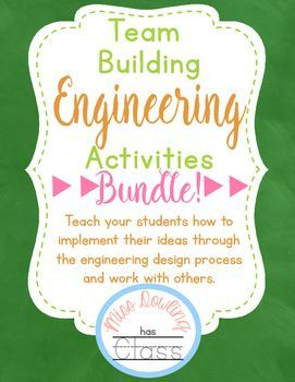 Creative Engineering Team Building Challenges Engineering projects