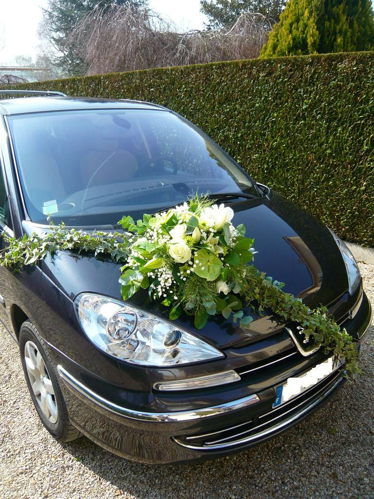 d cor de voiture mari s fleuriste mariage etampes etrechy dourdan mariage d co salle. Black Bedroom Furniture Sets. Home Design Ideas