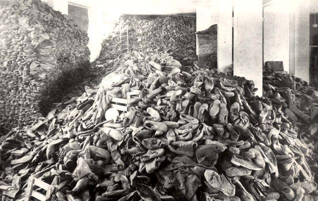 Pile Of Wedding Rings Auschwitz