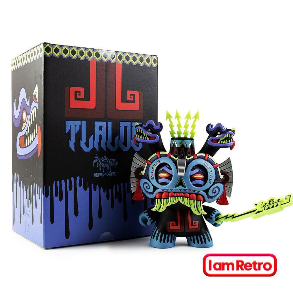 "Tlaloc 8/"" Dunny Blue Edition Vinyl Art Figure Jesse Hernandez x Kidrobot"