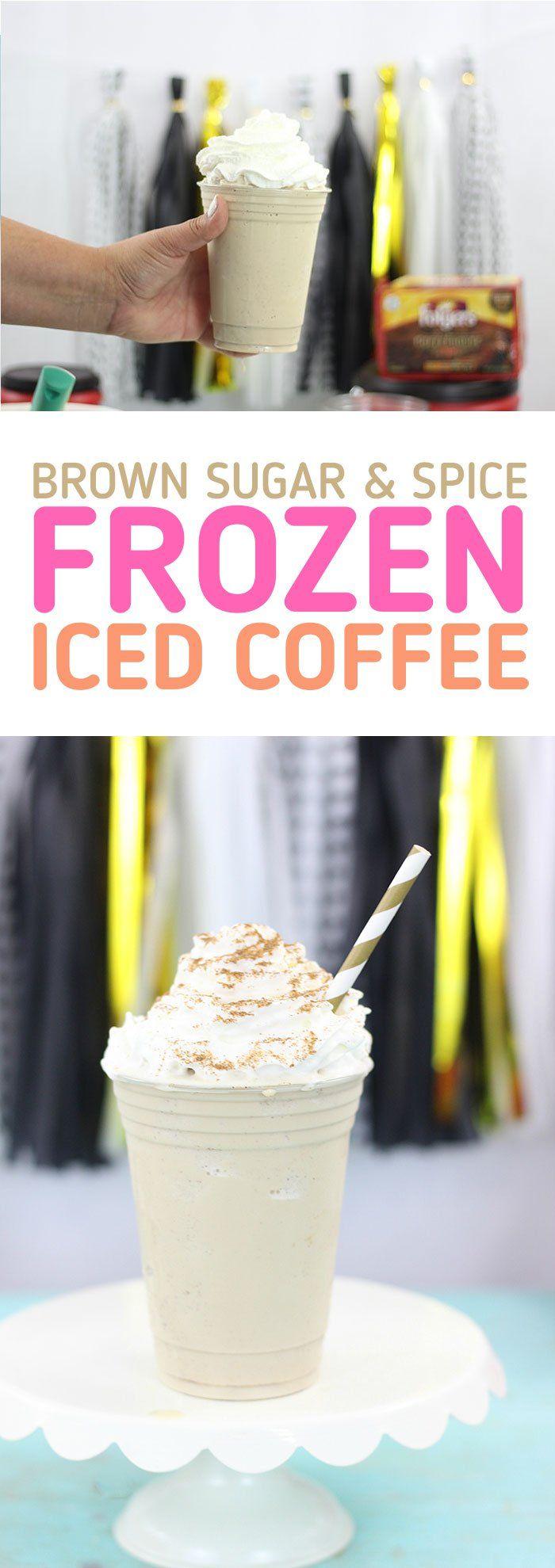 Brown Sugar & Spice Blended Coffee Recipe Coffee