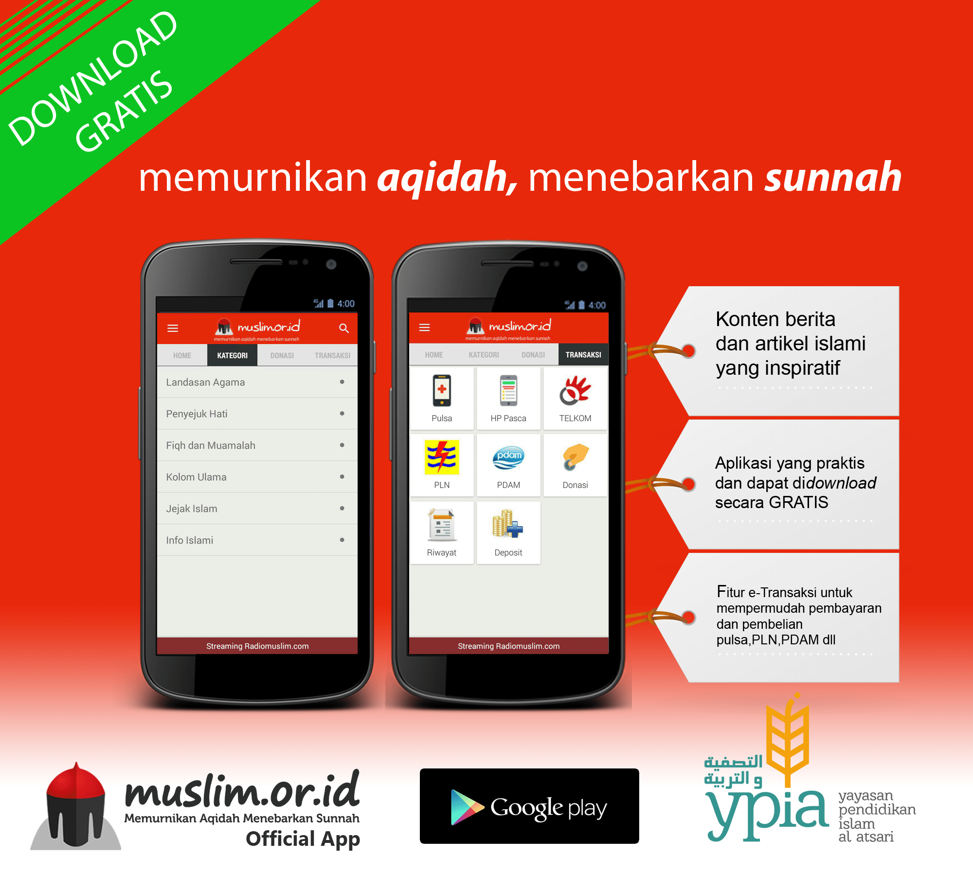 Aplikasi Android Gratis Muslim Or Id Aplikasi Android Doa Aplikasi