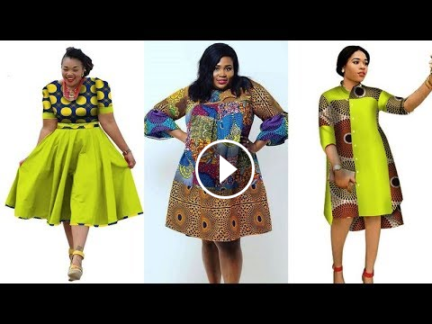 37ffb87b5bb 2018 STYLISHLY  AFRICAN PRINT DRESSES FOR PLUS SIZE LADIES  BEST ANKARA  INFINITY AFRICAN DRESSES