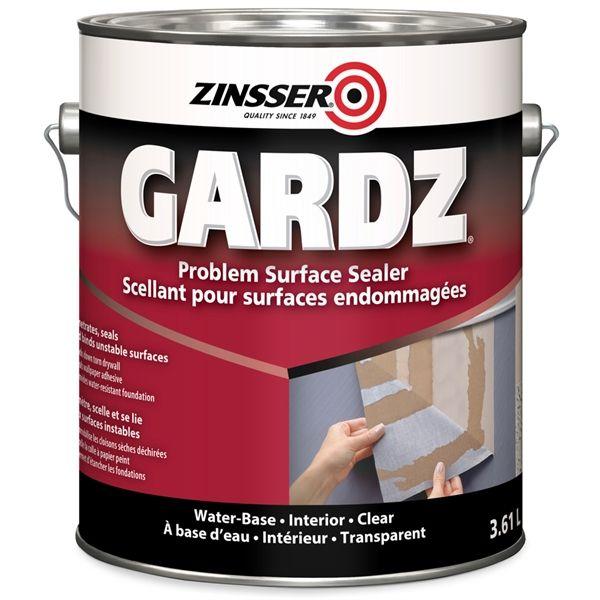 Zinsser Zinsser Gardz Primer Sealer 3.61L in 2019 Paint