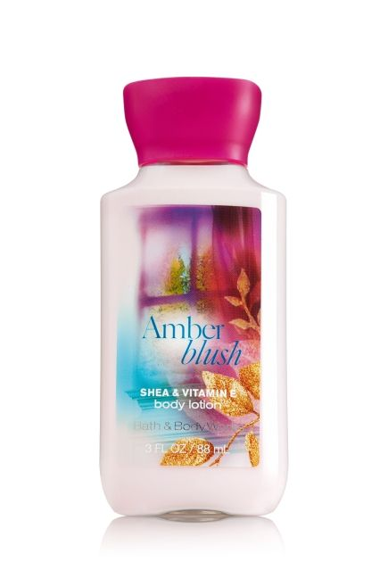 Amber Blush Travel Size Body Lotion - Signature Collection - Bath & Body Works