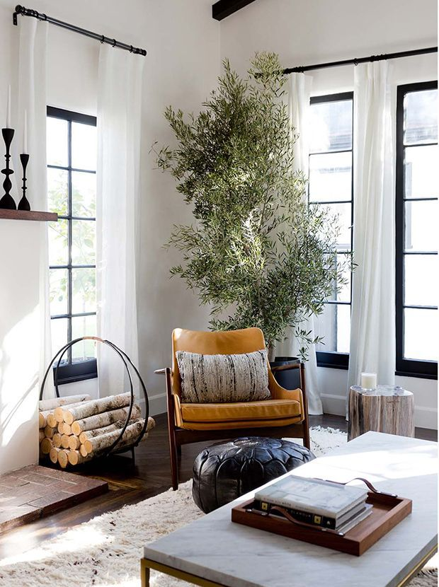 These 40 Rooms Are The Epitome Of California Cool  Spanish Style New Interior Designing Living Room Decorating Design