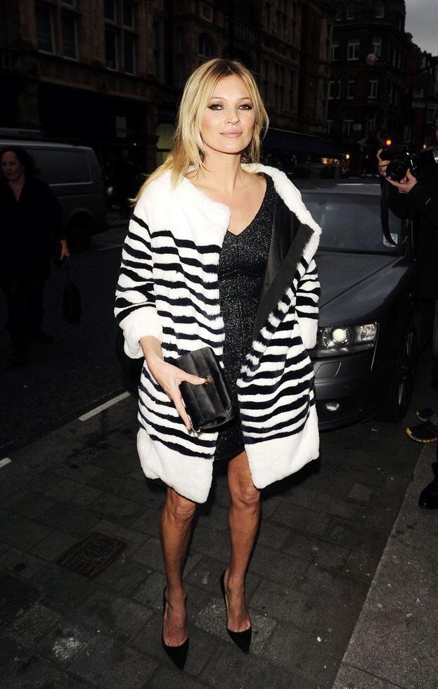 Striped fur, Marc Jacobs