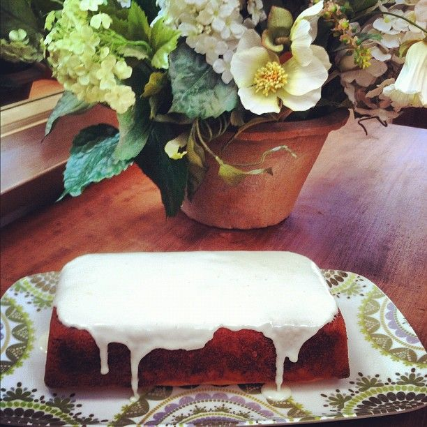 Ina Garten's Lemon Yogurt Cake. My Fav Birthday Cake