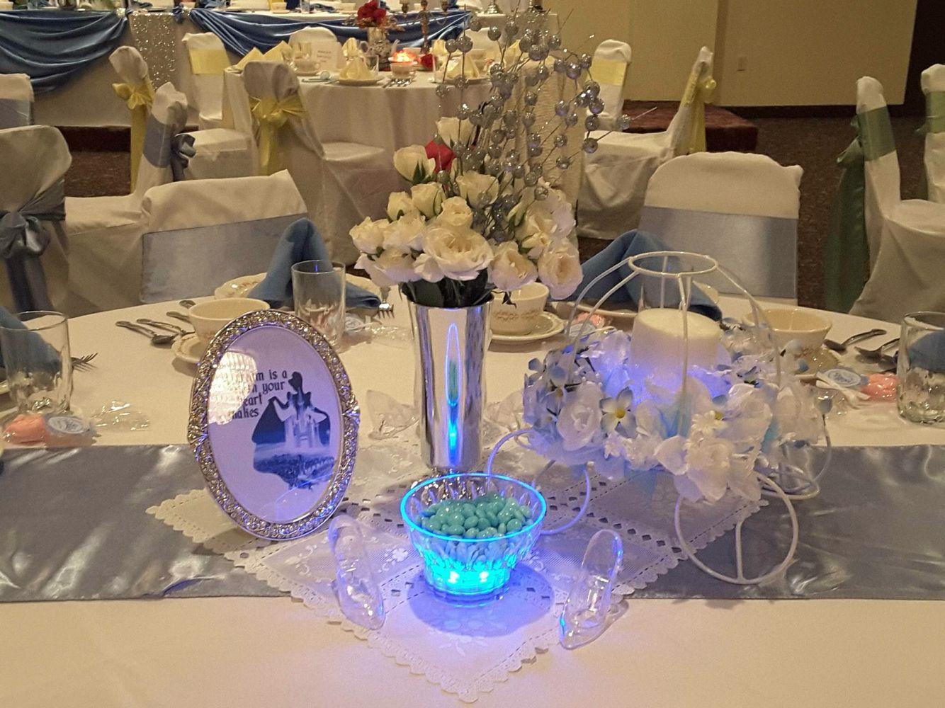 Cinderella centerpiece wedding stuff pinterest