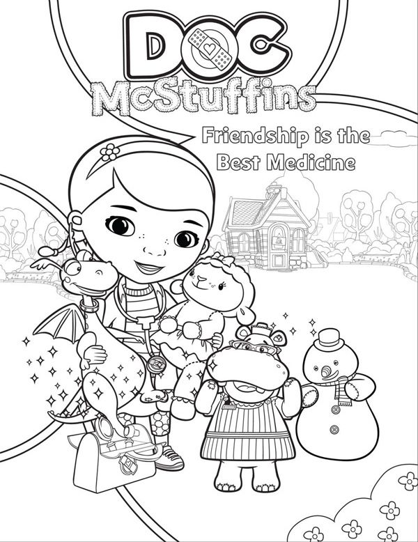 Disney Junior Toys R Us Doc Mcstuffins Coloring Pages Doc Mcstuffins Birthday Party Doc Mcstuffins