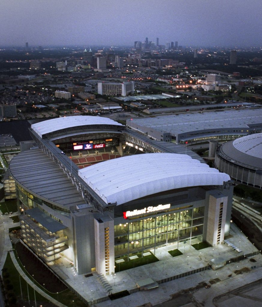 bf0eac26 Reliant Stadium (2002) - Houston, Texas... home of the Houston ...