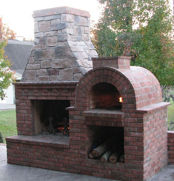 Sensational Pizza Ovens | Pizza oven fireplace, Pizza oven ...