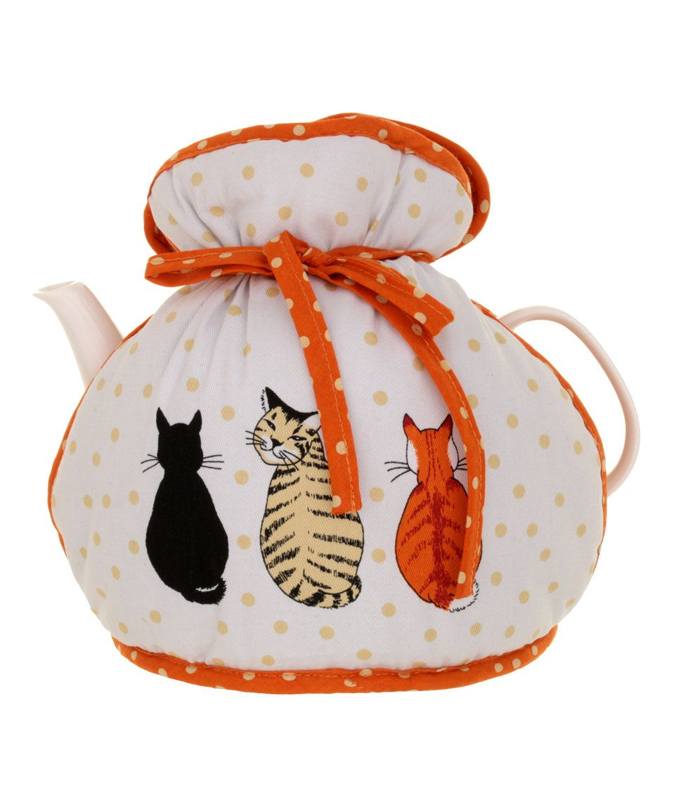 Another great find on #zulily! Cats in Waiting Muff Tea Cozy by Ulster Weavers #zulilyfinds