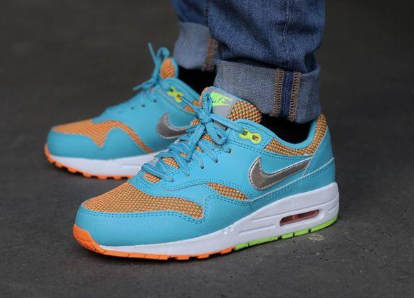 Nike Air Max 1 Gamma Blue/Orange