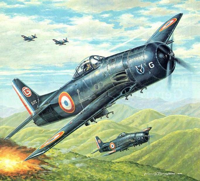 "Bearcat of the GC 1-21 ""Artois"" 1953"