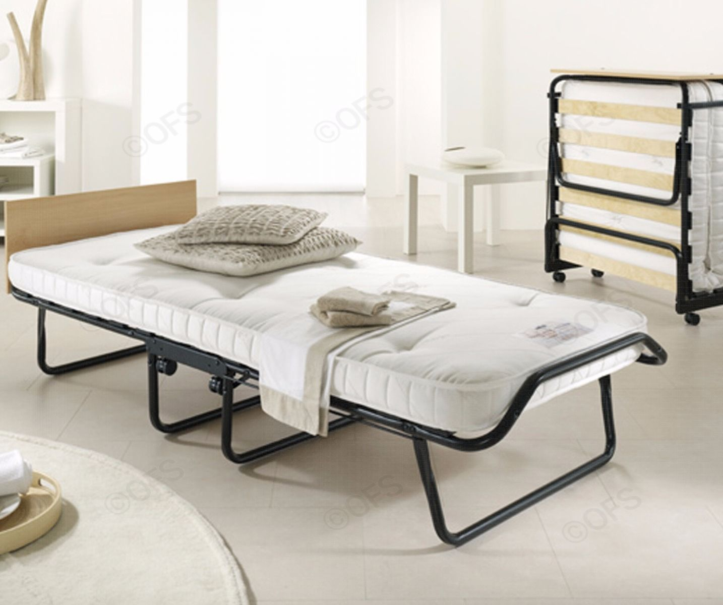 JAYBE Royal Folding Guest Single Bed with Pocket Sprung