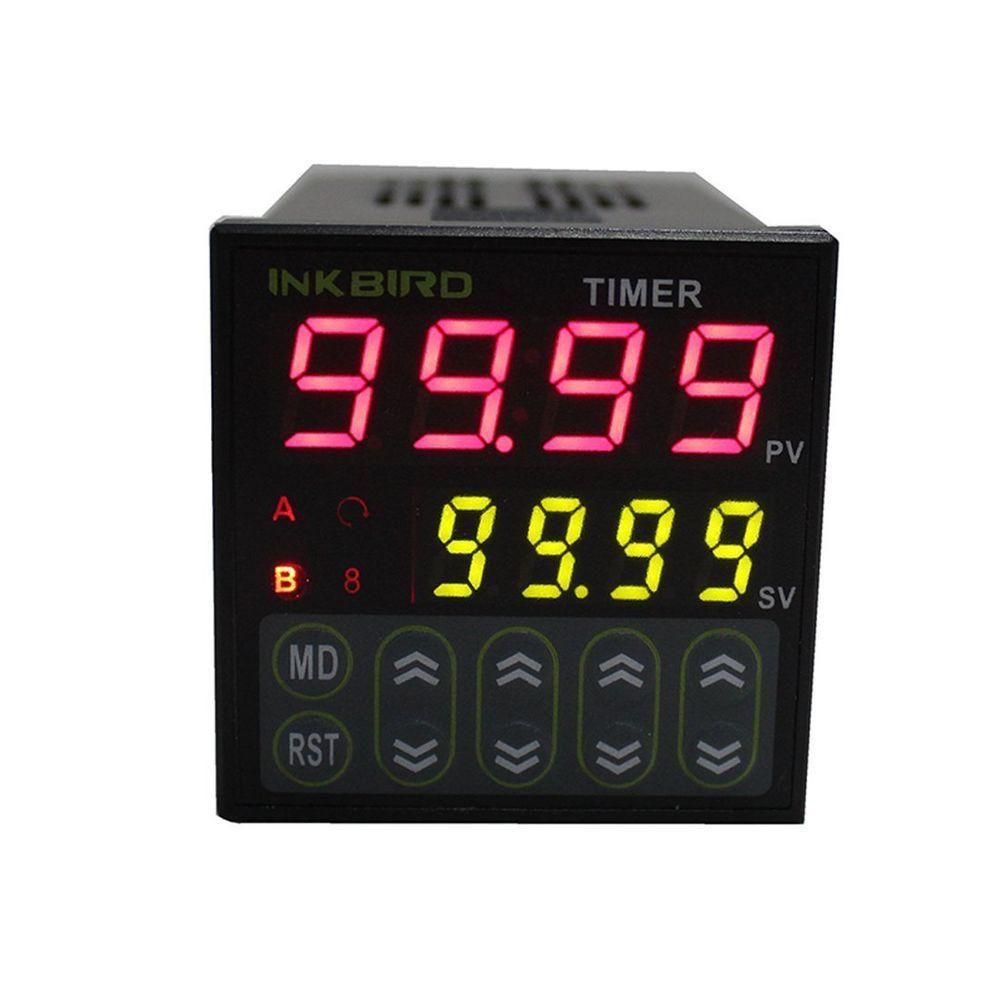 110 ℃ Digital Thermometer Temperature Meter Aquarium Sensor 220V PT-6-50 ℃ ~