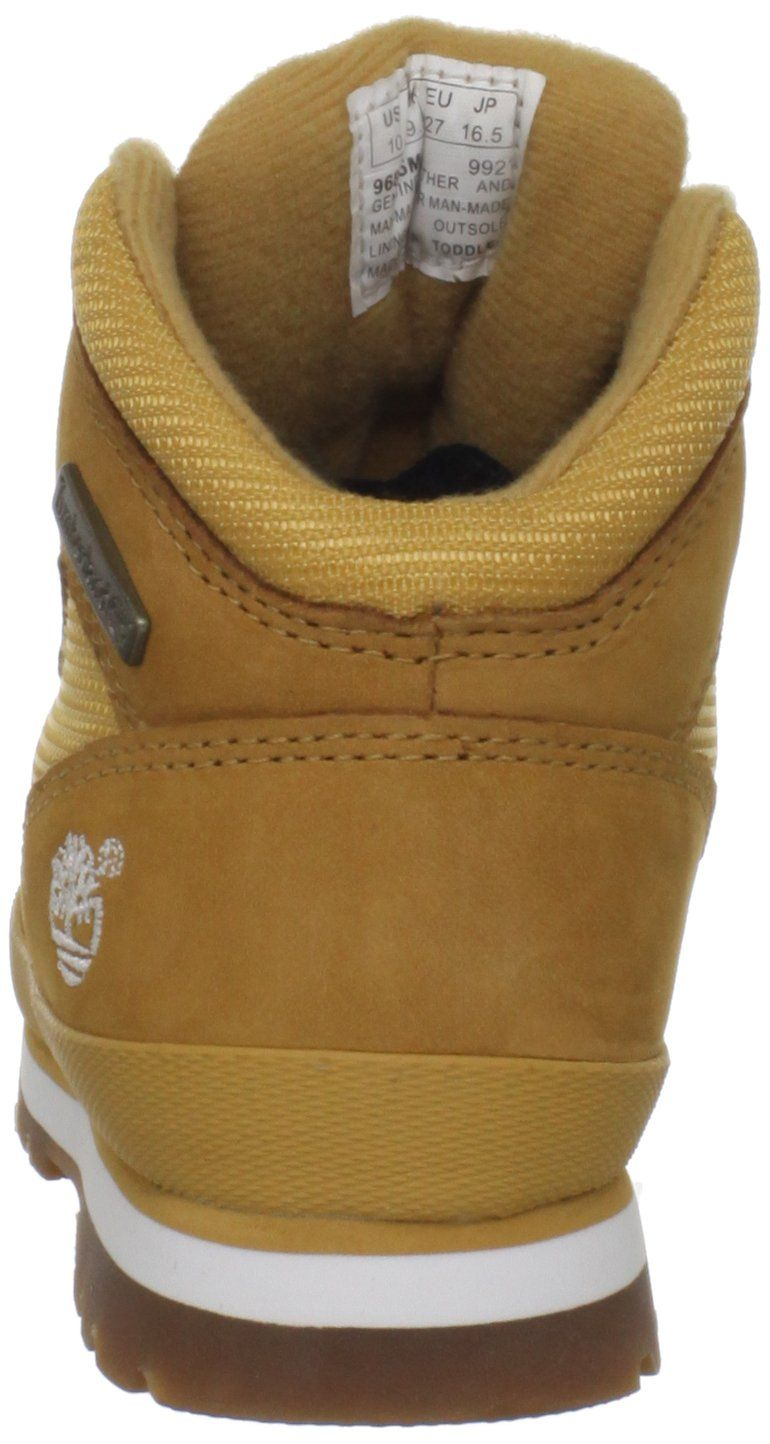 263d7a5ed3f Timberland Euro Hiker Leather and Fabric Boot Toddler/Little Kid/Big ...