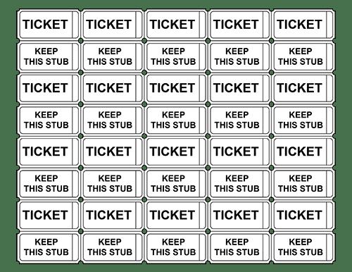17 Free Sample Raffle Ticket Templates In Different Formats Raffle Tickets Template Ticket Template Free Raffle Tickets Printable