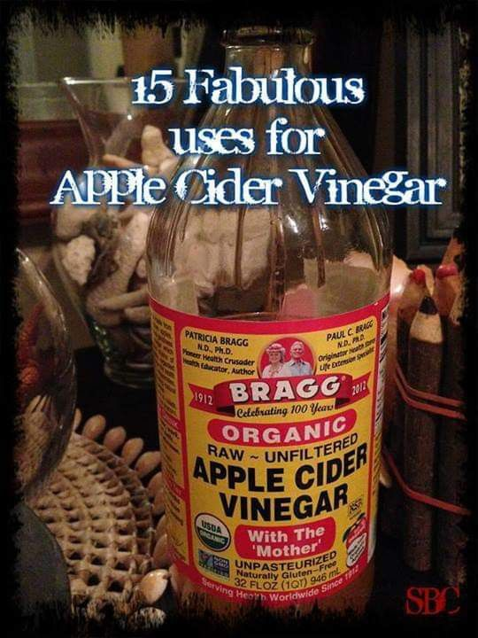 15 Fabulous Uses for Apple Cider Vinegar   Apple cider vinegar uses, Cider, Cider vinegar